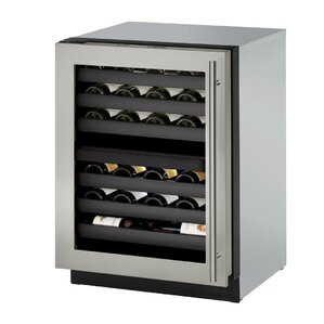 42 Bottle 3000 Series Single Zone Built-in Wine Cellar by U-Line