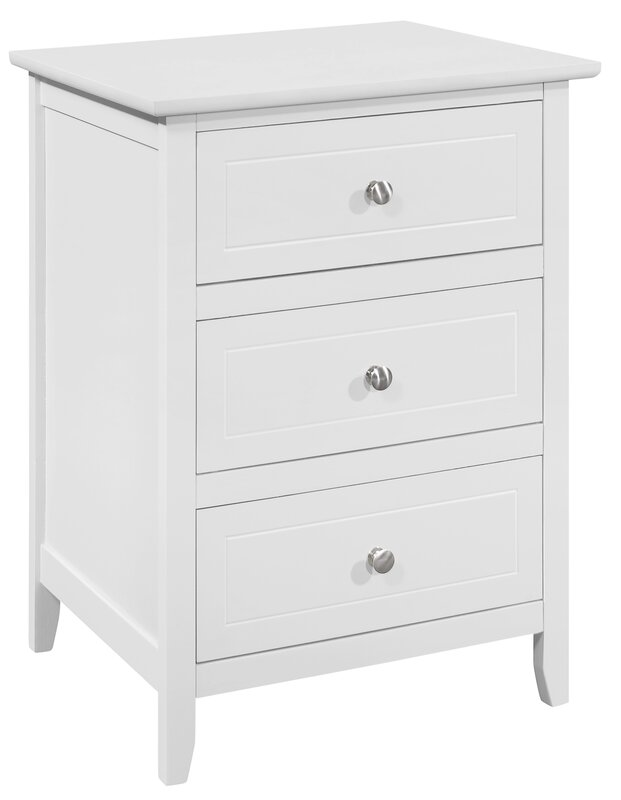 Delightful Lark Manor Ovellette 3 Drawer Nightstand U0026 Reviews | Wayfair