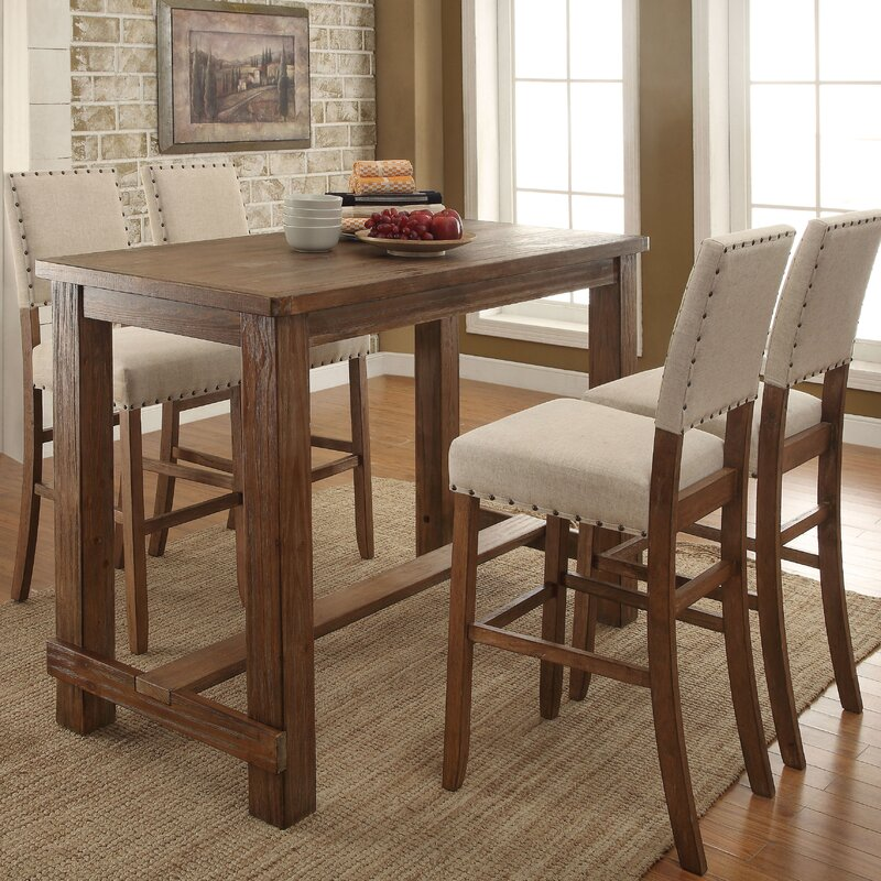 Lancaster Pub Table Set Darby Home Co