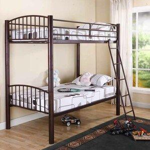 slat extra long twin bunk bed