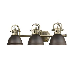 Brass bathroom vanity lighting youll love wayfair save aloadofball Image collections