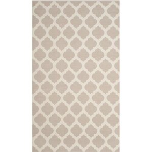 Willow Hand-Woven Gray/Ivory Area Rug