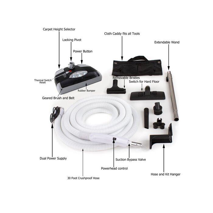 prolux central vacuum system