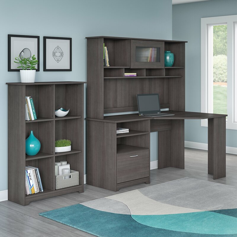 Hillsdale 2 Piece Office Set With Hutch