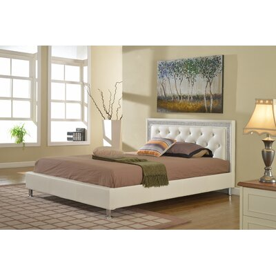 Formaran Queen Platform Bed Everly Quinn Color: White