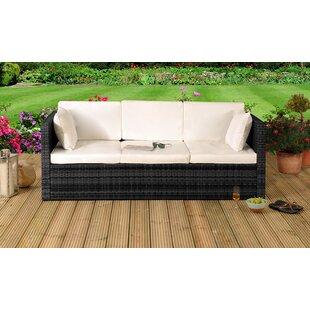 Katelin Garden Sofa with Cushions by Lynton Garden