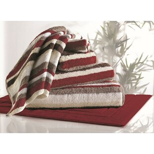 Elegant Striped Rayon From Bamboo 6 Piece Towel Set Amazing Pictures