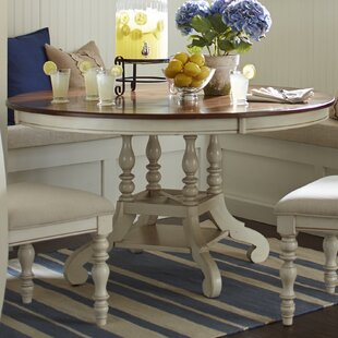 Dalton Round Extending Dining Table & Farmhouse Dining Tables | Birch Lane
