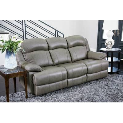 Darby Home Co Nigel Leather Reclining Loveseat & Reviews ...