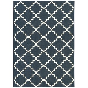Hanley Blue Area Rug