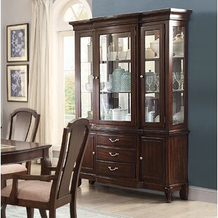 Kallas Buffet Lighted China Cabinet