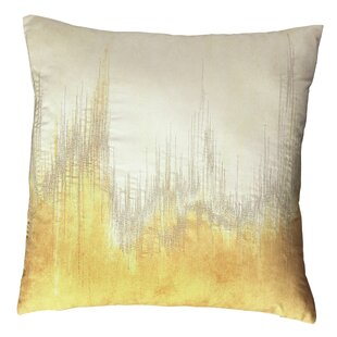 modern gold bright pillows abstract yellow pillow throw products sky check decorative iris decor