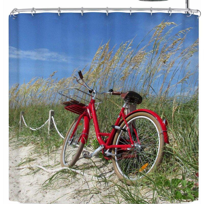 Rosie Brown The Bike Shower Curtain