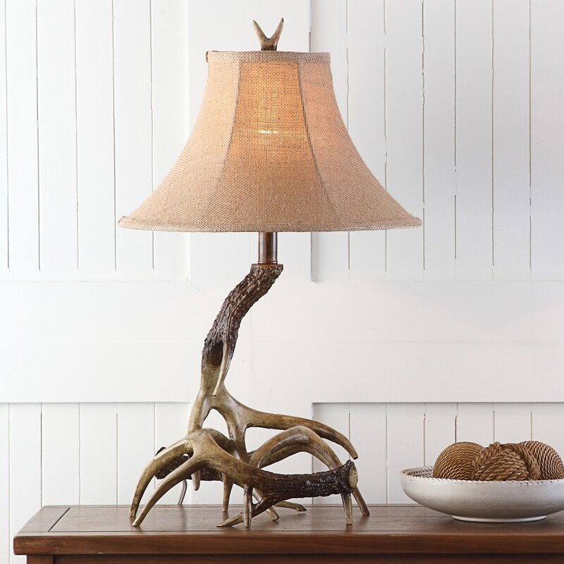 lighting htm lamps shades floor antler custom table elk lamp