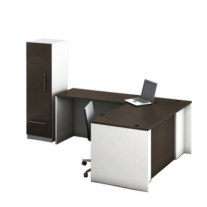 dianne 3piece lshape reception desk suite