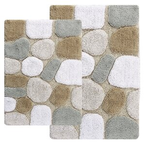 Hempstead 2 Piece Bath Rug Set