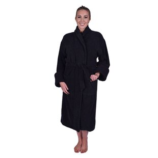 Lowrey Natural 100% Cotton Terry Cloth Bathrobe e92ccfdc0