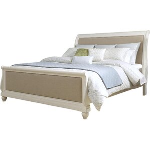 Ancolie Upholstered Sleigh Bed by One Allium Way