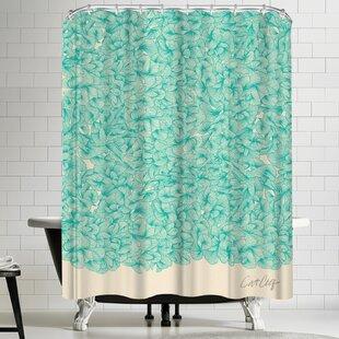 Turquoise Shower Curtains | Wayfair
