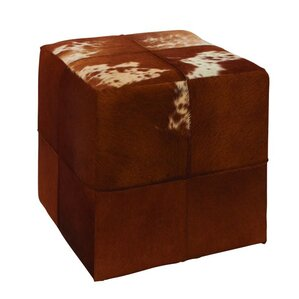 Leather Ottoman by Cole & ..