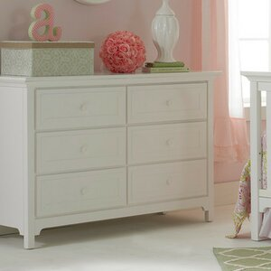 Carino 6 Drawer Double Dresser