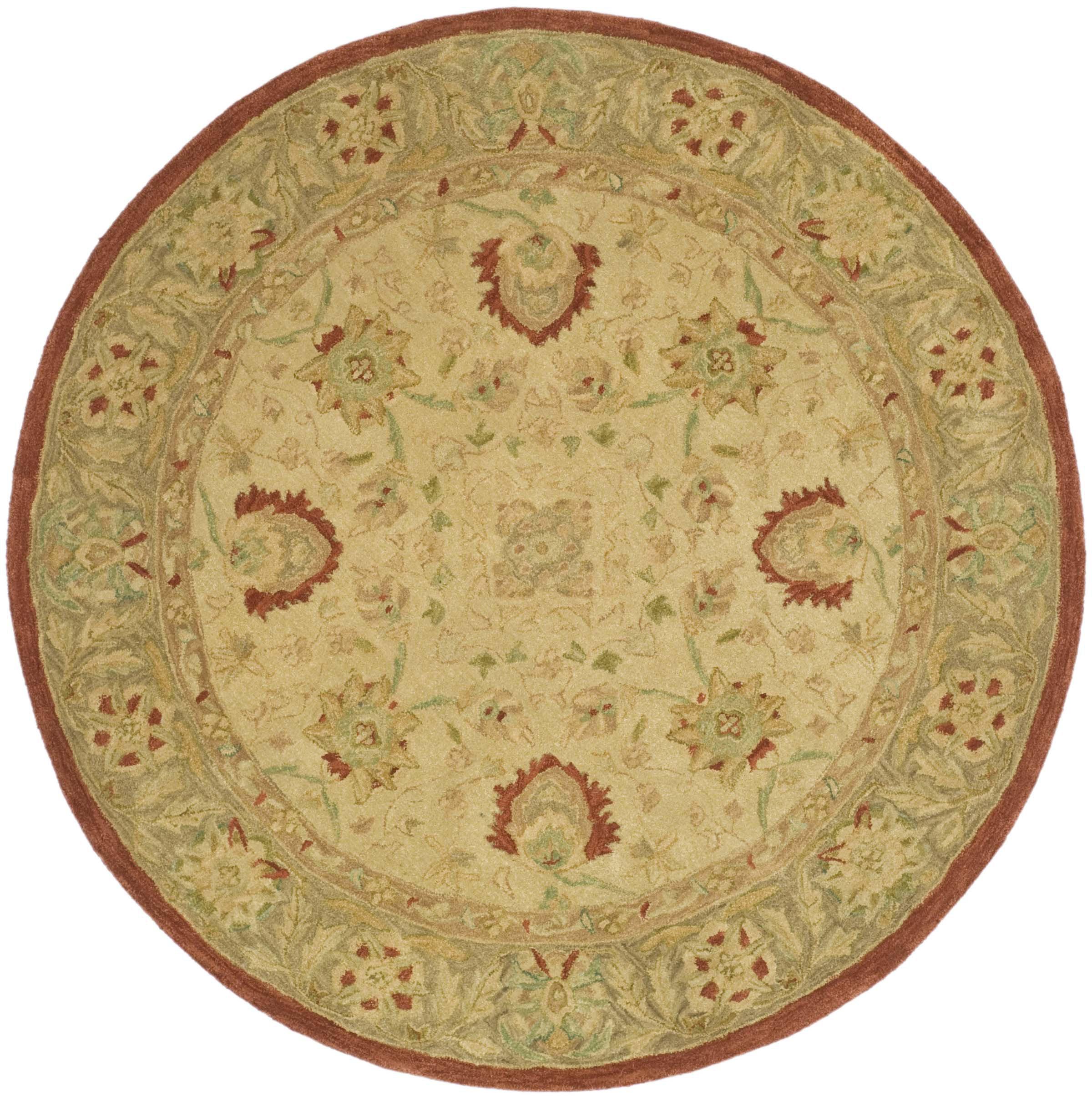 Safavieh Anatolia Ivory Rust Area Rug Reviews Wayfair
