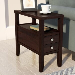 Gahagan End Table With Storage..
