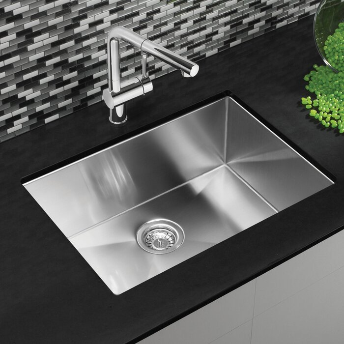 undermount kitchen sinks stainless steel. Quatrus R15 Stainless Steel 25\ Undermount Kitchen Sinks R