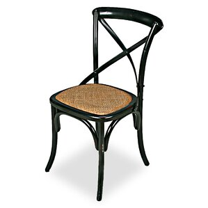 Tuileries Gardens Solid Wood Dining Chair by Sarreid Ltd