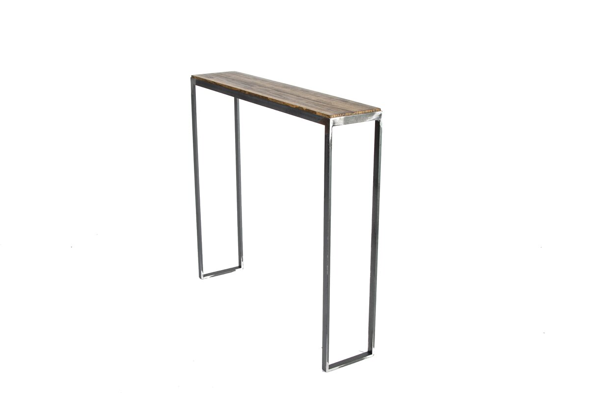Modern console sofa tables allmodern geotapseo Gallery