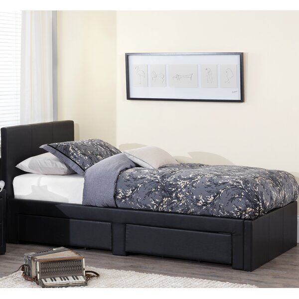 Home & Haus Surat Single Upholstered Storage Bed & Reviews
