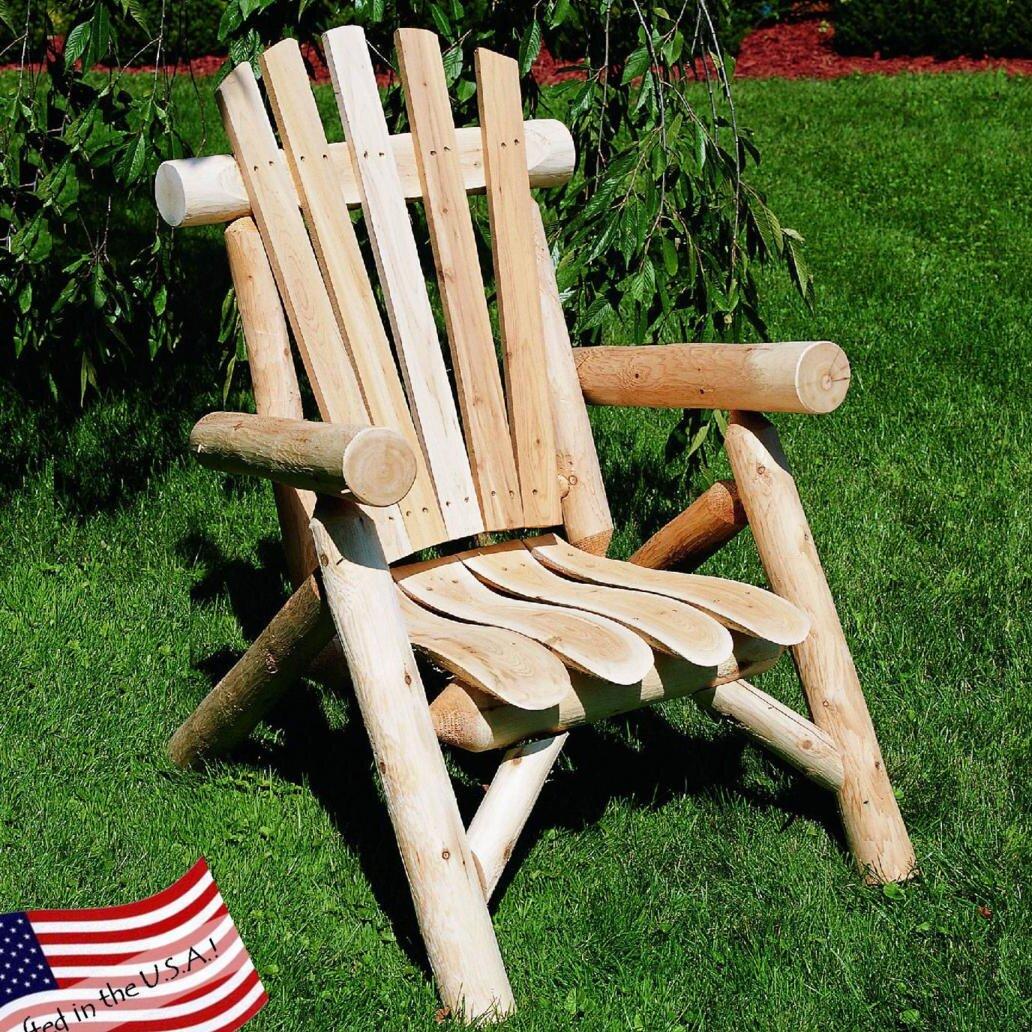 Loon Peak Allred Urban Solid Wood Adirondack Chair Reviews Wayfair