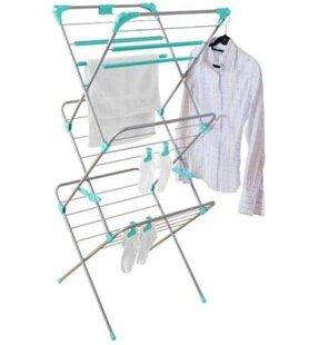 Premium Deluxe 3 Tier Concertina Indoor Airer Free Standing Drying Rack