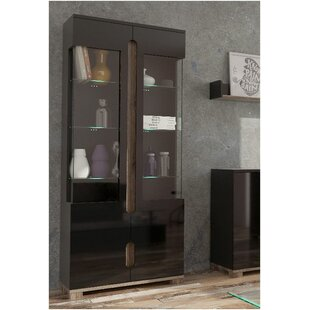 Costa Display Cabinet  sc 1 st  Wayfair & Black Gloss Display Cabinet | Wayfair.co.uk