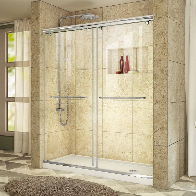 Dreamline Charisma 60 X 36 X 72 Sliding Frameless Shower Door