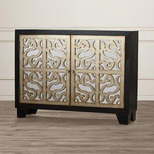 Aguilar 2 Door Mirrored Cabinet