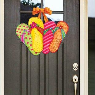 057aca1fa41f Favorite Flip Flops Door Decor