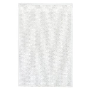 Great Price Ada Tufted Bright White/ White Sand Area Rug By Charlton Home