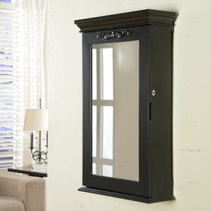 Morris Wall Mounted Jewelry Armoire