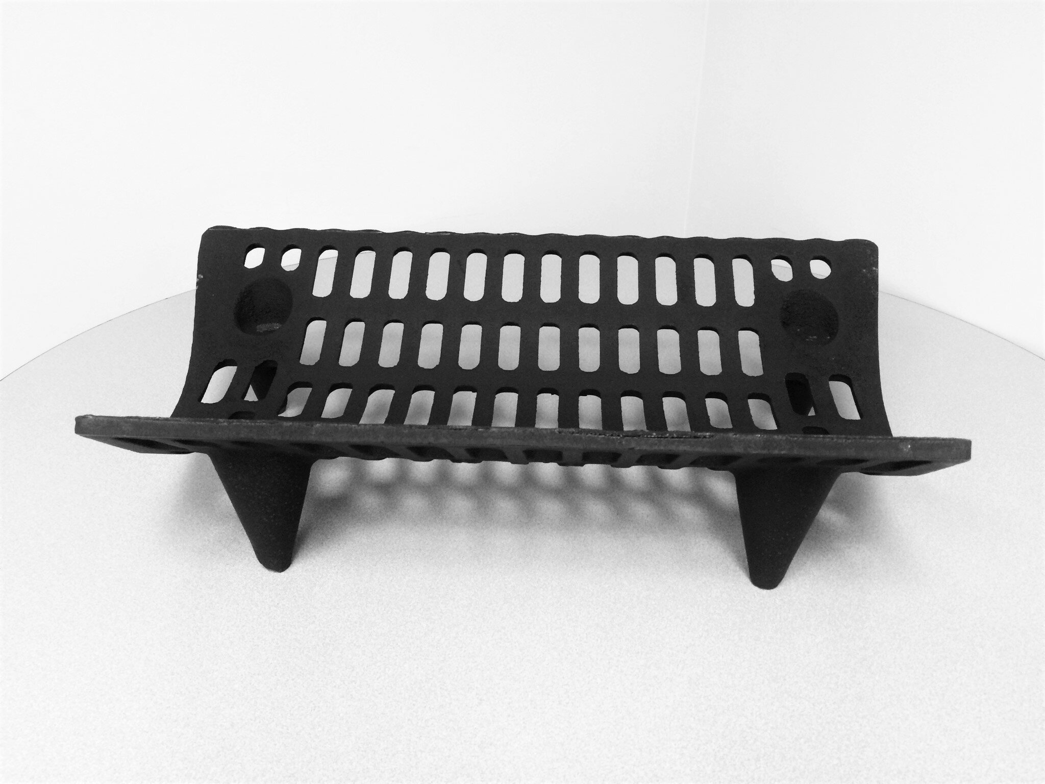 new wrought grate iron products square fire bar wellington simplsteel fireplace cast zealand