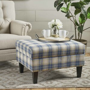 Purdue Fabric Storage Ottoman by August Grove