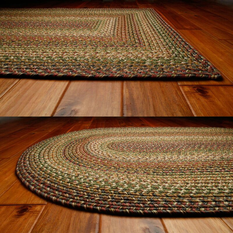 Garden Decor Nutty Rug: Homespice Decor Ultra-Durable Rainforest Indoor/Outdoor