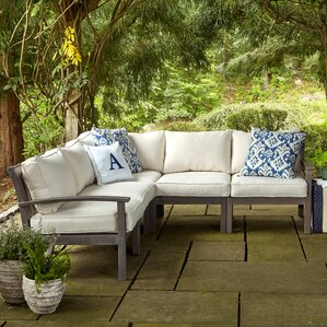 Amazing Rossi Sectional With Cushions
