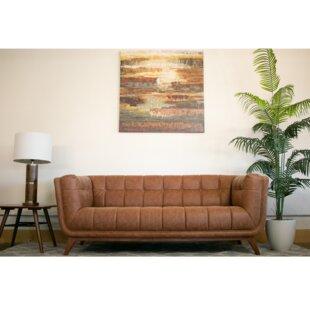 Lupe Vintage Leather Sofa