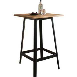 Campagna Transitional Square Wooden Pub Table