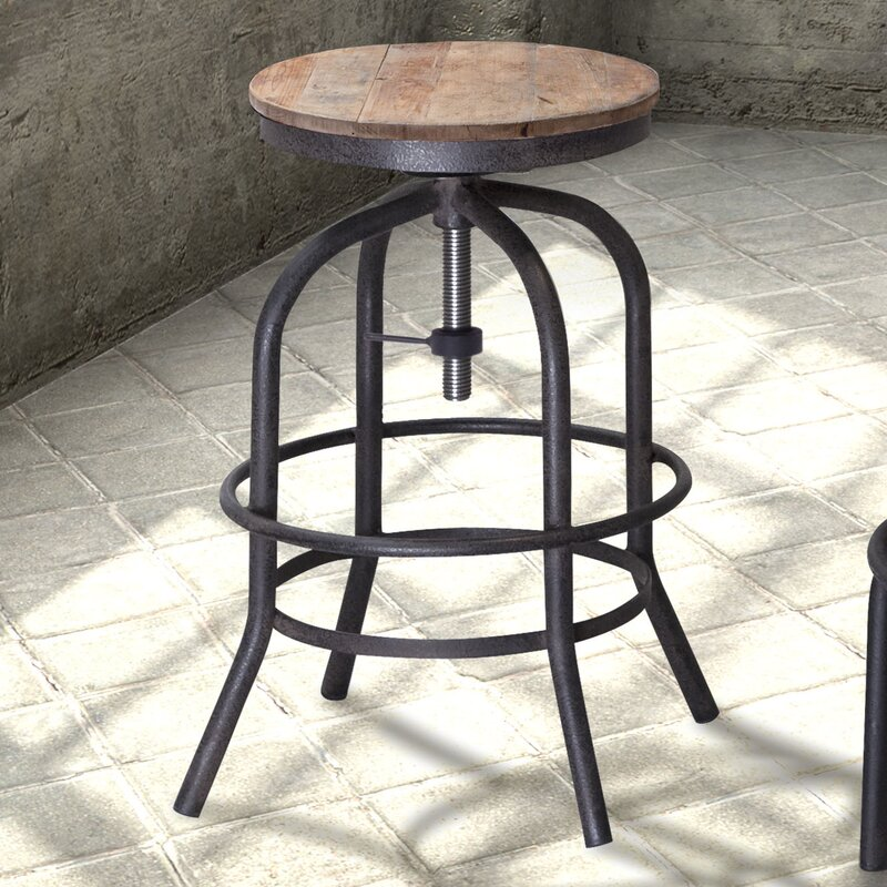 Howe Adjustable Height Swivel Bar Stool & Trent Austin Design Howe Adjustable Height Swivel Bar Stool ... islam-shia.org