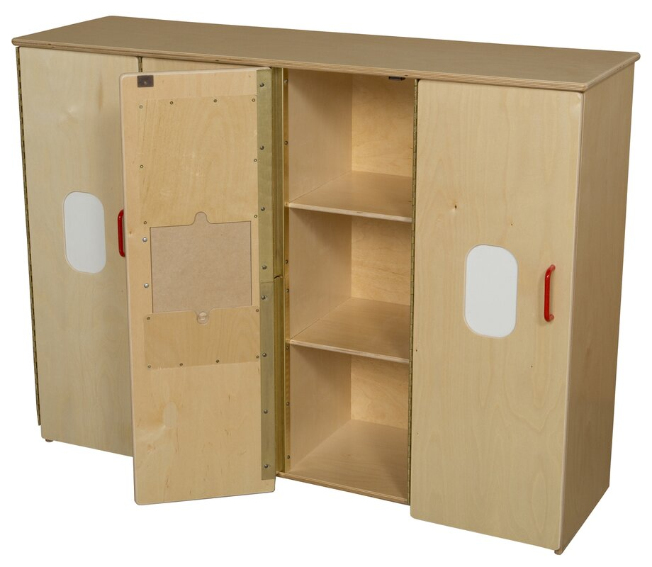 Classroom Cabinet Design ~ Wood designs toddler compartment classroom cabinet with