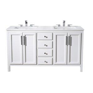 Vanity Bathroom Double Sink double vanities you'll love | wayfair