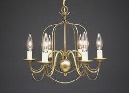 Bird cage chandelier wayfair sockets bird cage hanging 6 light chandelier aloadofball Gallery