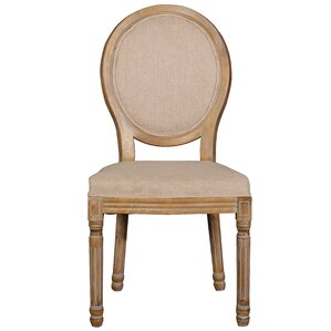 Florenza Vintage Upholstered Dining Chair (Set of 2) by One Allium Way
